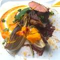 料理メニュー写真ハンガリー産 鴨胸肉のロースト