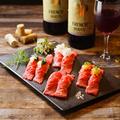 料理メニュー写真お任せ握り寿司5貫