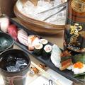 料理メニュー写真寿司盛り合わせ