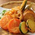 料理メニュー写真季節野菜のフリット盛り