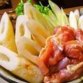 料理メニュー写真秋田屋自慢の比内地鶏のきりたんぽ鍋(1人前)