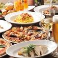 各種パーティー、ご宴会、結婚式の2次会などにピッタリの貸切Partyプランもご用意。平日は15万円~、祝前日&休日は25万円~何名でも貸切可能です★お席は48名迄、立食60名迄。