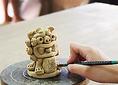 【シーサー作り体験(約90分)3000円~】+1000円で陶芸体験限定ピザセット付き!