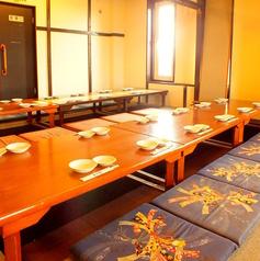 2階席は最大70名迄貸切でのご利用が可能です。歓送迎会や会社会合、各種2次会など、大型の宴会にも最適です◎