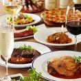 今、大人気の肉バル!!飲み放題付コースは5000円~!たっぷりお肉を楽しめる飲み放題付パーティコースをご用意しております!浜松町、大門駅周辺でステーキとワインの飲み会や宴会、ガッツリお肉の女子会や宴会、ソムリエ厳選の特別なワインが飲みたい記念日は是非完全禁煙のビストロ ラ・ブーシェリー・エ・ヴァンで!