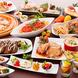 種類豊富に様々なお料理をお楽しみ頂けます!お子様にも