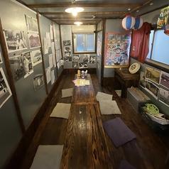 10名様までご利用頂ける、お座敷タイプの個室です。完全個室なので、プライベートな空間で特別な時間をお過ごし下さい。