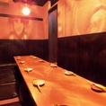 10名~14名様までご利用頂ける掘りごたつの完全個室ございます。くつろげる空間で飲み会、同窓会、歓迎会、女子会、など楽しいひと時をお過ごしください。少人数のワイワイ飲みなど周囲の目を気にせずお過ごしできるお部屋です!数に限りがございますので、ご予約はお早めに!【渋谷 居酒屋 個室 焼き鳥 和食 飲み放題】