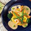 料理メニュー写真白身魚の明太子クリームソース