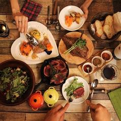 厳選ワイン飲み放題の店 肉バル横丁のコース写真