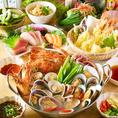 飲み放題付きコースは3000円~!宴会コースからお肉たっぷりコースまで全て飲み放題付きでご用意♪