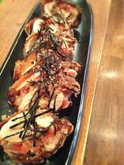 料理メニュー写真鶏の唐揚げ 梅じそ巻き