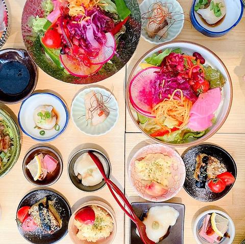 【ランチ予約限定】朝倉や糸島の新鮮野菜をお届け!10月迄の豪華ワンプレートランチ1500円(税込)