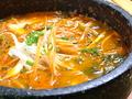 料理メニュー写真豆腐チゲ/鶏肉チゲ