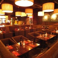 エイト・ライスフィールド・カフェ eight Ricefield cafe すすきの店の雰囲気1