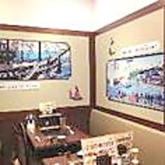 横浜の文化を壁画に書かれております。是非ご覧ください。