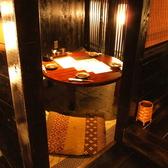 仲間内での宴では丸いテーブルを囲みワイワイ楽しめるお部屋も御座います!!