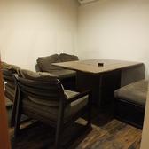 2階:6名様の個室です。周囲を気にせず、ゆっくりとお酒やお料理を楽しめるお部屋です。