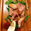 料理メニュー写真スペイン産ポルテサノポーク肩ロースステーキ200g