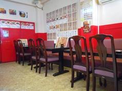 1階のテーブル席(4名様×5卓)