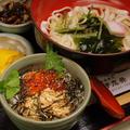 料理メニュー写真いくら・鮭丼&きしめん(温・冷)