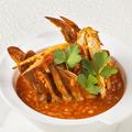 料理メニュー写真渡り蟹のオーロラリゾット