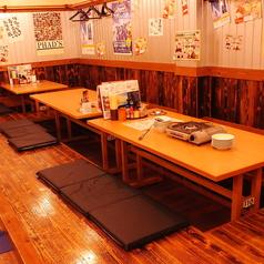 こだわりの食材を多数ご用意してお待ちしております。4名席×2/6名×2席ございます!