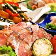 芳寿豚や長崎県産和牛等、県産肉お料理も◎