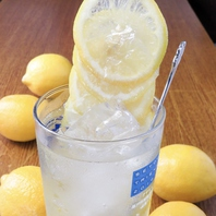 フォトジェニックなレモンサワー