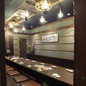 気軽なお食事にも最適な店内です。宴会や打ち上げの大人数にも対応しています。(八重洲/東京駅/居酒屋/飲み放題/宴会/個室/接待/和食/大人数/おすすめ/人気/貸切/海鮮)