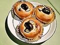 料理メニュー写真花豆パン