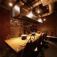 ◆1F【はなれ】テーブル個室。ご利用人数8~14名様まで!幹事様への【安心】をお届けする完全プライベート空間!あらゆる用途でご利用いただける当店人気No.1個室!!