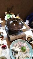 【寒い冬には河豚鍋(ふぐ鍋)☆】