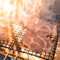 料理メニュー写真【山口産直】鹿野豚ロースのわら焼き