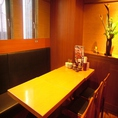 8名様までのテーブル個室はプライベート使いに◎庄や自慢のゆったり空間でお食事を!