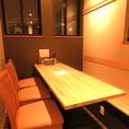 一番奥のテーブル席★