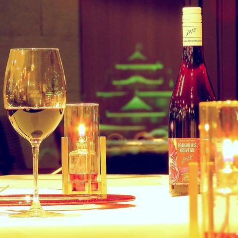 大切な日のおもてなしを夜景の見えるレストランで・・・