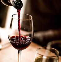 デート、接待、会食に最適。種類豊富なお酒の数々