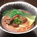 料理メニュー写真麻辣牛肉麺