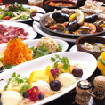 【各種宴会コース】\3000~ご用意しております◎大人気のパエリアやアヒージョ、ジューシーなイベリコ豚のグリルなどスペイン料理を堪能できるコースをご用意可能です!お料理に合うワインも豊富にございますので、お気軽にスタッフまでお問い合わせください♪誕生日、記念日などにはメッセージプレートのご用意も可能です★