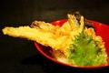 料理メニュー写真海老と穴子の揚げたて天丼