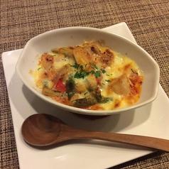 若鶏モモとアスパラ・トマトのチーズ焼き