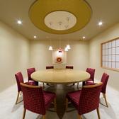 【赤酒々】定員8名様。円卓テーブルもご用意できます。ご家族や女性グループに人気のお部屋です。