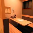 5名様までOKの個室(※ネット予約・即予約でのお席希望はできません。店舗へお電話にてお問い合わせください。)