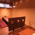 【お座敷席】区切れる半個室感覚の座敷