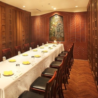 大手町で人気の個室で、貸切立食パーティー