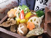 蓮根限定!彩り野菜のセイロ蒸し