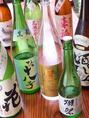 店長がその時々で最高のお酒を入荷しています。女性でも気軽に味わえるおすすめのお酒も多数!!