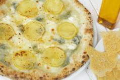 料理メニュー写真レモンのカルボナーラ
