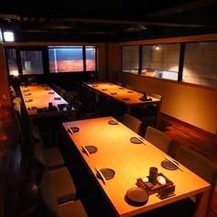 VIP個室15名様~30名様で貸し切り可能です。 ※室料は頂いておりません。※時期により貸し切り可能人数は変動致します。